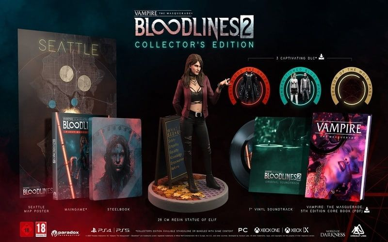 Bloodlines 2 Collectors Edition