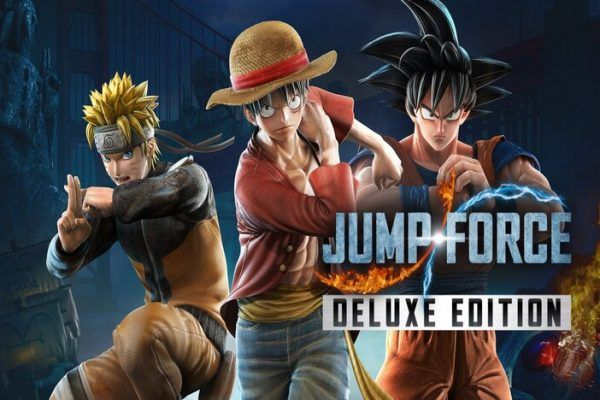 Jump Force Deluxe Edition Header